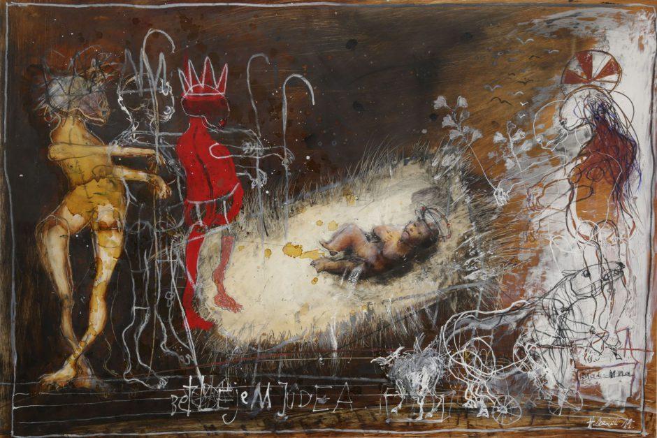 Obraz Henryka Cześnika - Betlejem Judea